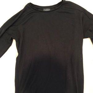 Topshop black tunic/dress